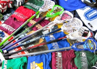 Boys Beginner Lacrosse Sticks