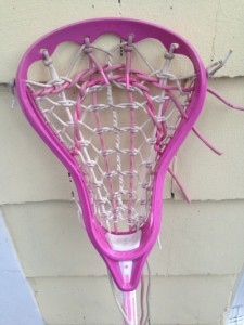 Pink girls lacrosse stick